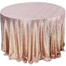 table linens. amazlinen sparkly rose gold round sequin tablecloth (108\ table linens