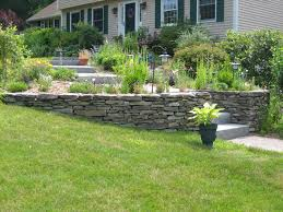 Small Picture retaining wall ideas Get landscaping ideas entryway ideas
