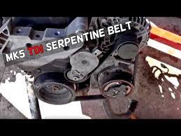 vw golf jetta tdi 1 9 mk5 serpentine belt diagram and replacement 1999 VW Beetle Engine Diagram vw golf jetta tdi 1 9 mk5 serpentine belt diagram and replacement