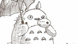 トトロのイラストの描き方を紹介してくれている動画集