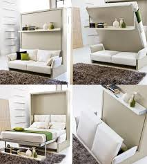 Italian Space Saving Furniture | Bed table, Small apartments and Apartments