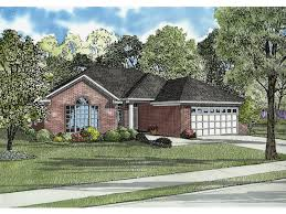 one story exterior house design. One-Level Traditional Home With All-Brick Exterior One Story House Design