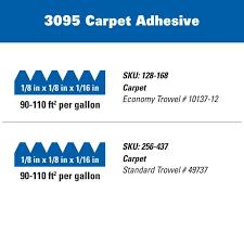 roberts 3095 1 gal superior fast grab carpet glue adhesive 3095 1 the