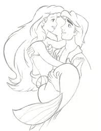 Small Picture Ariel And Eric Coloring Pages download free printable coloring pages
