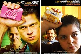 Daniel cudmore, jonathan good, lochlyn munro and others. Couple Re Enact Famous Movie Scenes In Apartment While Under Lockdown