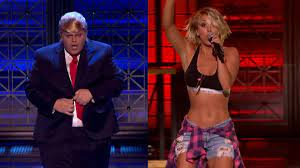 Most Bizarre 'Lip Sync Battle' Ever? Josh Gad Makes Out With Johnny Galecki  as Kaley Cuoco Watches