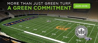 artificial football turf. Awarded Greenest College Stadiums In 2015 \u0026 Gold LEED Certification For \u201clandmark Example Of Adaptive Artificial Football Turf