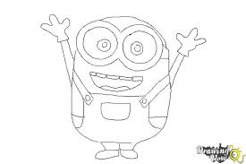 Small Picture How to Draw a Minion Step by Step DrawingNow