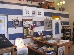 Nautical Childrens Bedroom Decoration Nautical Home Decor In Kids Bedroom With Boat Bed With
