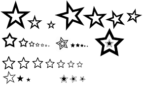 тритатушки архив блога эскизы тату звезды