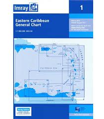 Imray Charts Caribbean Imray Chart 1 Eastern Caribbean General Chart