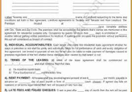 Simple Rental Agreement Nj Lease Agreement Pdf Lovely Standard Residential Lease Agreement