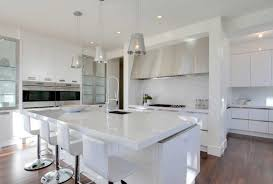 All White Kitchen Designs Decoration Cool Inspiration