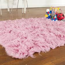 pastel pink rug white area girls for nursery soft cute rugs room dark baby