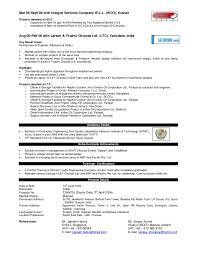 Rotating Equipment Engineer Resume