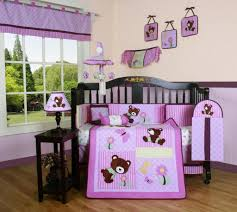 girls baby bedding piece crib sets with per included bundle teddy girl nursery gender neutral collections