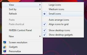 how to reduce screen size how do i reduce the desktop icon size in windows 7 super user