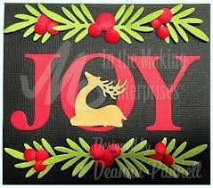Image result for cards made using Dee's Distinctively Joy die