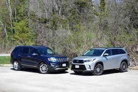 Faceoff: Ford Explorer vs. Toyota Highlander - The Globe and Mail