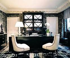 office black. Black And White Office Ideas Modern Special Home Design Cozy With Two . L