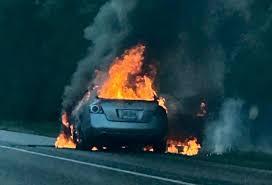 Vehicle burns on I-65 southbound near Stockton exit   News   fox10tv.com