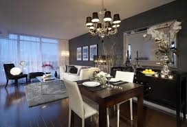 toronto transitional dining room by lux design