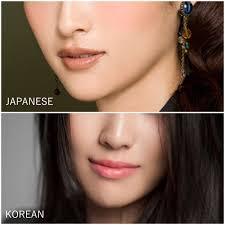 korean makeup vs anese makeup luella