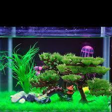 Resultado de imagen de plantas artificiales acuario