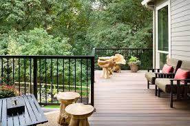 design Bewohnlich balcony design idea comfortable flooring wood