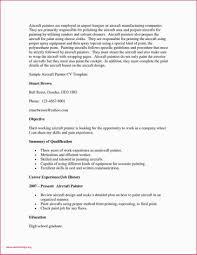 Resume Painter Job Description For Resume Nanny Examples Elegant