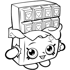 Cute Shopkins Coloring Pages Thanhhoacarcom