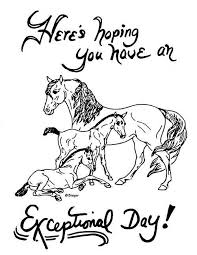 Free printable rearing horse coloring page for kids of all ages. Coloring Pages Breyerhorses Com