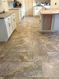 luxury vinyl traditional kitchen by sheet flooring install