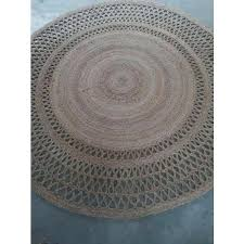jute rugs brown round braided uk large australia ikea