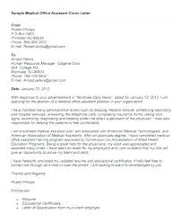 Cover Letter For Medical Assistant Position Medical Administrative