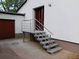 Durchmesser 120 cm, 140 cm, 160 cm oder 180 cm. Treppe Aussen Haus Eingang Podest Naturstein Granit Beton Stufe Tritt Hellgrau Treppe Aussen Aussen Hauser Aussentreppe