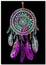 Beautiful Dream Catcher Images Beautiful Dreamcatcher CANVAS ART PRINT spiritual Native Black 11