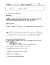 Real Estate Agent Resume Template 095 Templates Free 822 Saneme