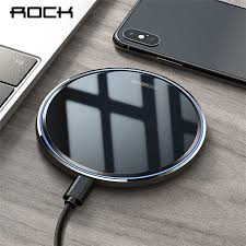 Беспроводное <b>зарядное устройство ROCK Metal</b> 10 В