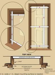 Larson Storm Door Size Chart Measuring For A Storm Door Storm Door Guy