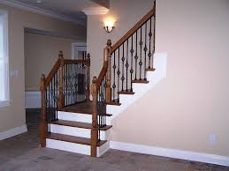 basement stairs railing. Image Of: Basement Stairs Railing Basement Stairs Railing L