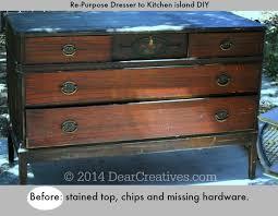 diy kitchen island cart. Before Image Of Dresser To Kitchen Island DIY_ Diy Cart C