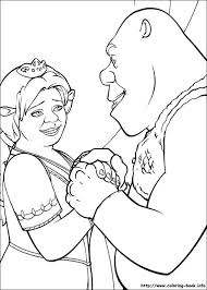 Small Picture 74 best Coloring Pages Shrek images on Pinterest Shrek
