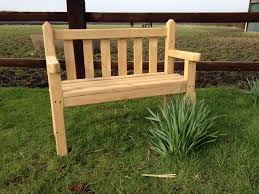 traditional kids wooden bench