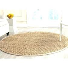 round natural fiber rug rugs 57 gilesand 8 foot round natural fiber rugs