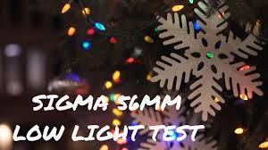 Is There An Easy Way To Check Christmas Lights Tested Out The Sigma 56mm 1 4 Dc Dn Lens In Low Light