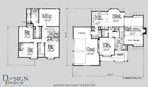 marvelous 4 bedroom 2 story house plans photos ideas