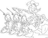 Donald Duck Kleurplaat Spel Funnygamesnl