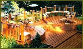 Backyard Decking Designs Mesmerizing Patio Backyard Decks And Deck Designs Pictures Ideas Builders Modern