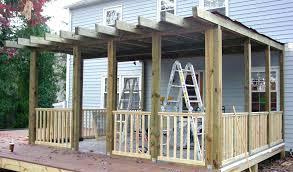 diy screen porch by diy aluminum screen porch kits